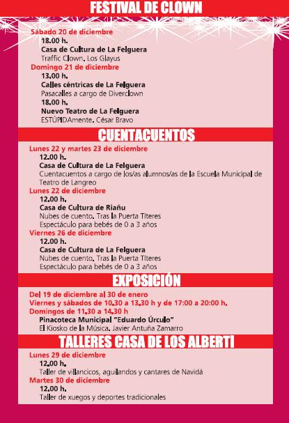 Asturias con niños: Salón de Navidad de Langreo