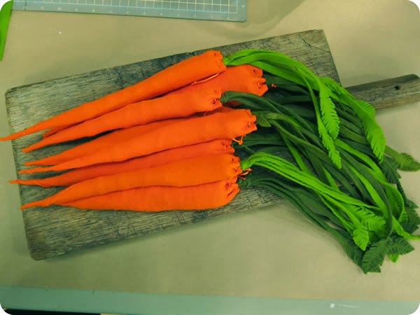 Beautiful and rich with sweet carrots