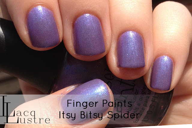 Finger Paints Itsy Bitsy Spider swatch