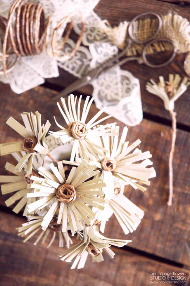 Magazine paper flowers images flower decoration ideas pen paper flowers craft all you magazine take this make that fringe flowers french farmhouse style mightylinksfo