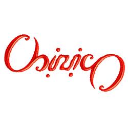 Ambigramma Chirico