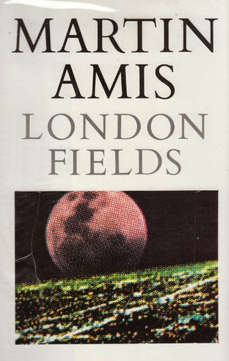 London Fields Book Cover by Martin Amis