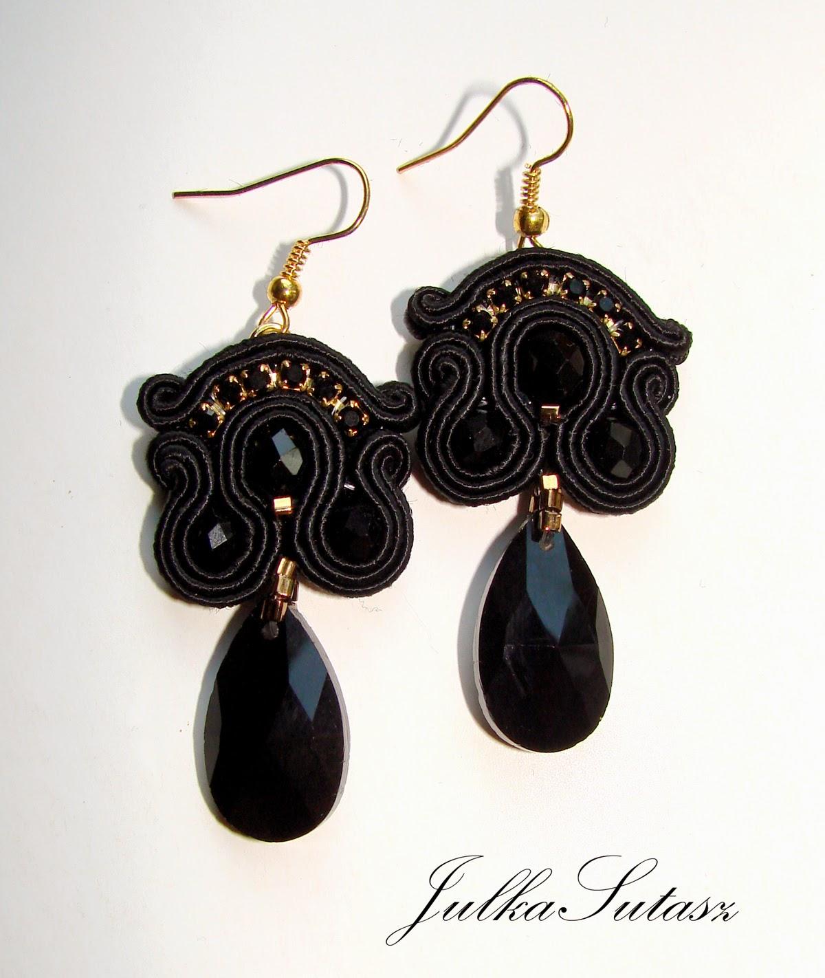 *II Little black dress* Earrings