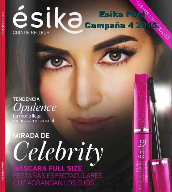 Campaña 4 2015 Esika Peru