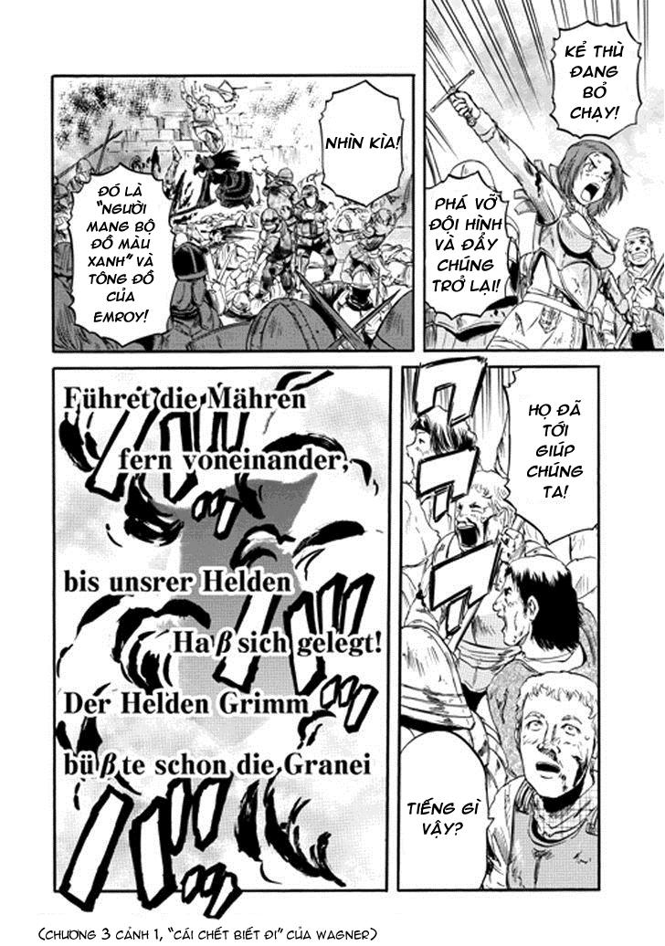 Gate – Jietai Kare no Chi nite, Kaku Tatakeri chap 12 Trang 30 - Mangak.info