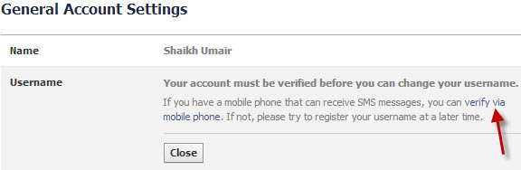 Facebook-Username-Mobile-Confirmation