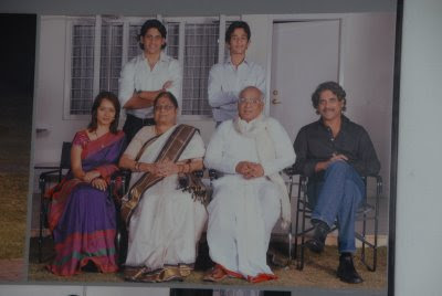 Naga Chaitanya's family