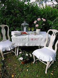 Jag gav tips på Utomhusdukning på TV4 Hemmakanalen för några år sedan