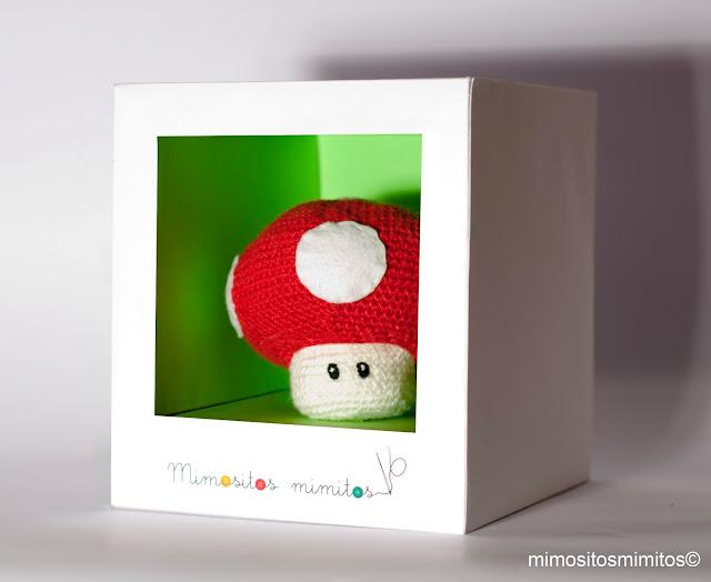 seta hongo de Mario Bros nintendo