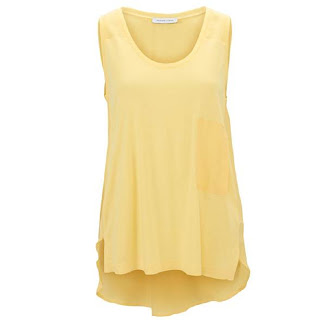 Selected Femme top in soft yellow