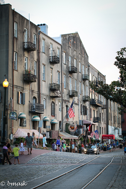 River Street , Savannah GA