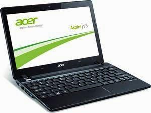 ACER ASPIRE V5-123-12102G50nkk, Black