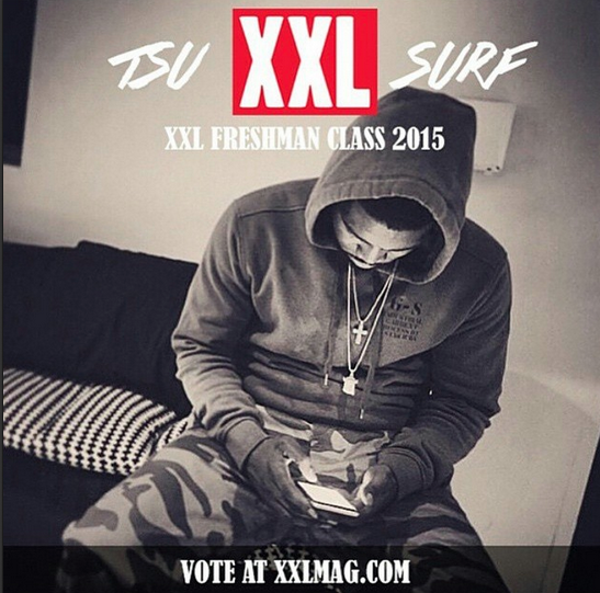 Tsu Surf - Take XXL Freshman Cover 2015
