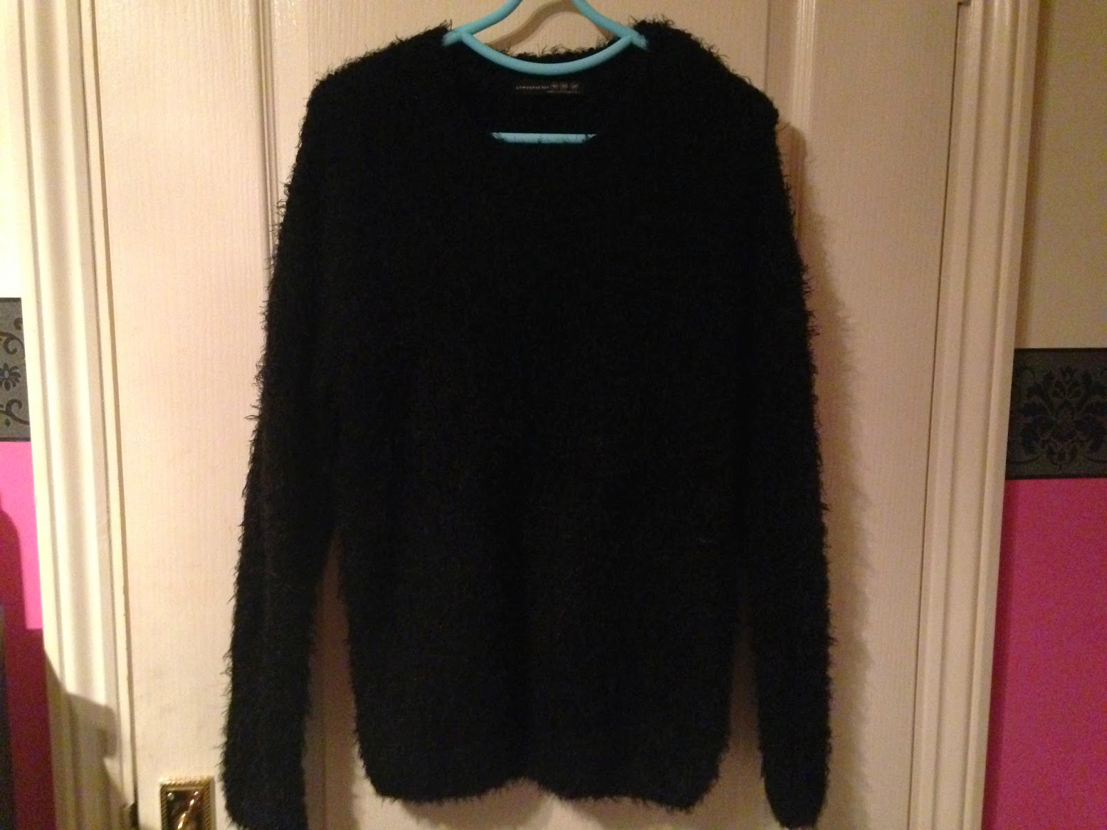 Primark Black Fluffy Jumper