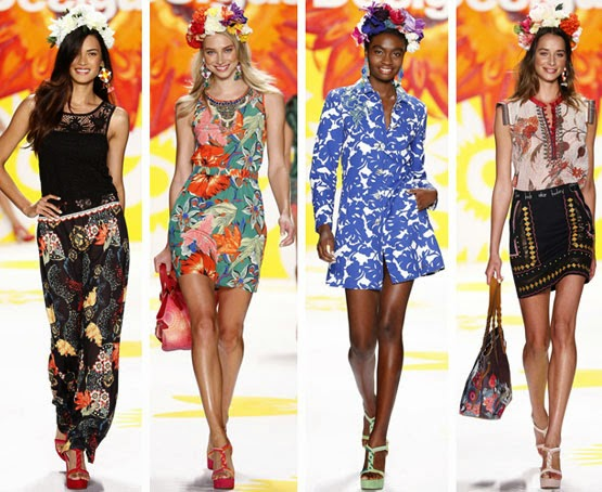 Desigual primavera verano 2015 Fashion Week New York