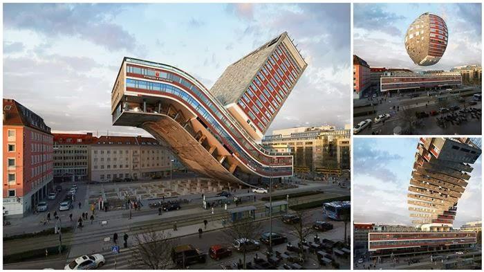 التصميم المعماري التلاعب الصور إبداع مثيل بالصور