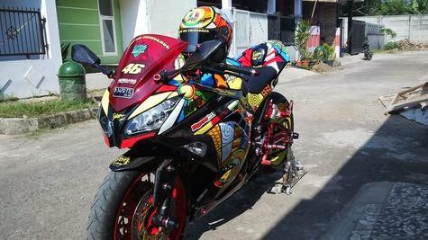 modifikasi ninja 250 fi ala motogp