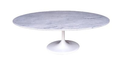 Copy Cat Chic Saarinen Low Oval Coffee Table