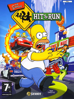 The Simpsons - Hit & Run PC Box