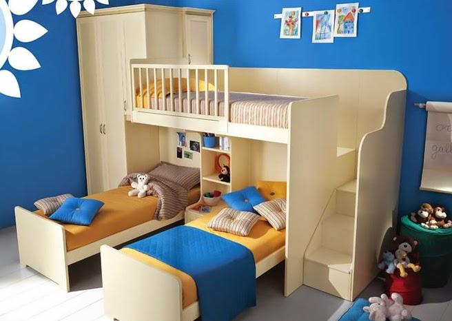 dise os de dormitorios para tres hermanos colores en casa