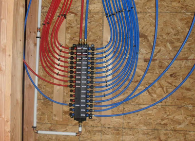Rocky hollow home february 2012 for Pex pipe freeze protection