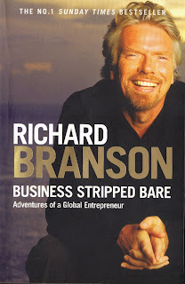 Richard Branson Business Stripped Bare book review