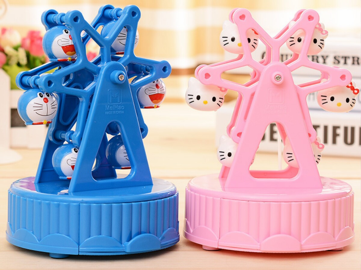 Kotak Perhiasan/ Music Box Hello Kitty