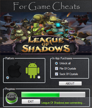 League Of Shadows Game Hack
