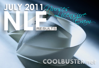 July 2011 NLE Results