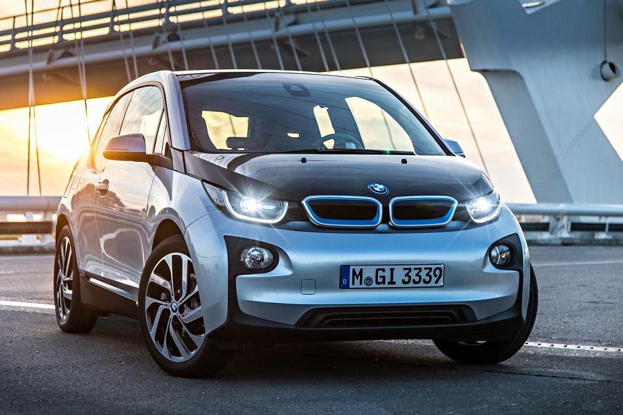 BMW i3 (2014) Front Side