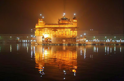 Night View of Golden Temple