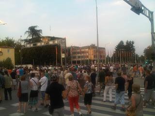 Аман! Протест во Скопје - Илинденска б.б.