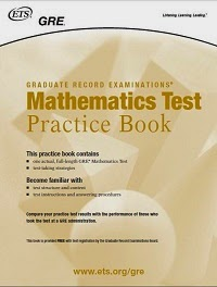 GRE - Math Test Practice Book