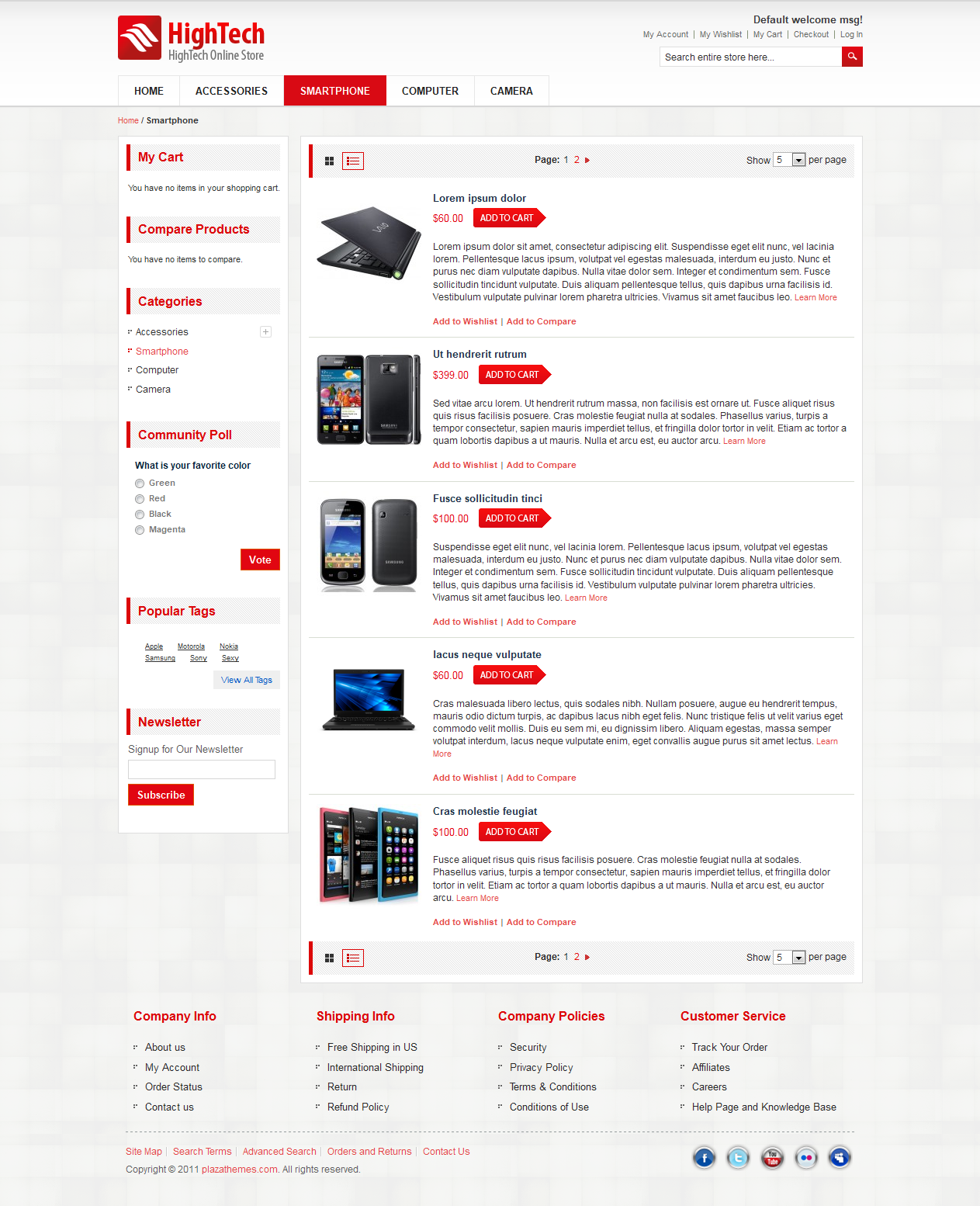 E-commerce-templates-for-electronic-device