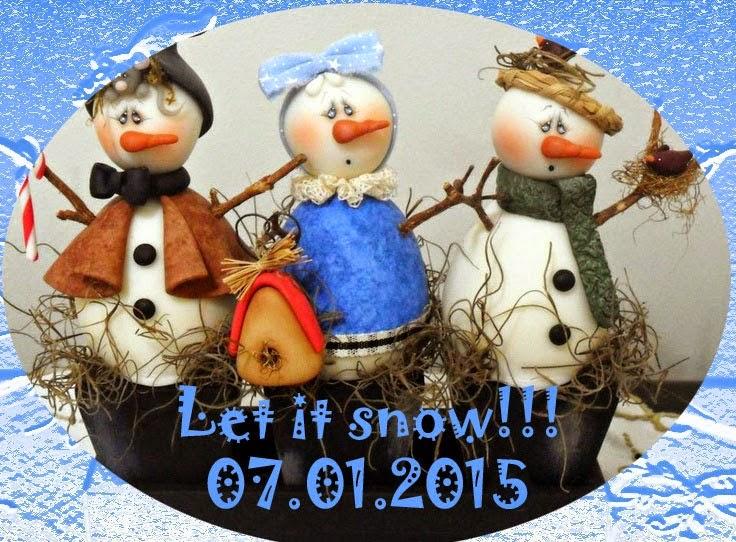 Галерея Снеговиков!