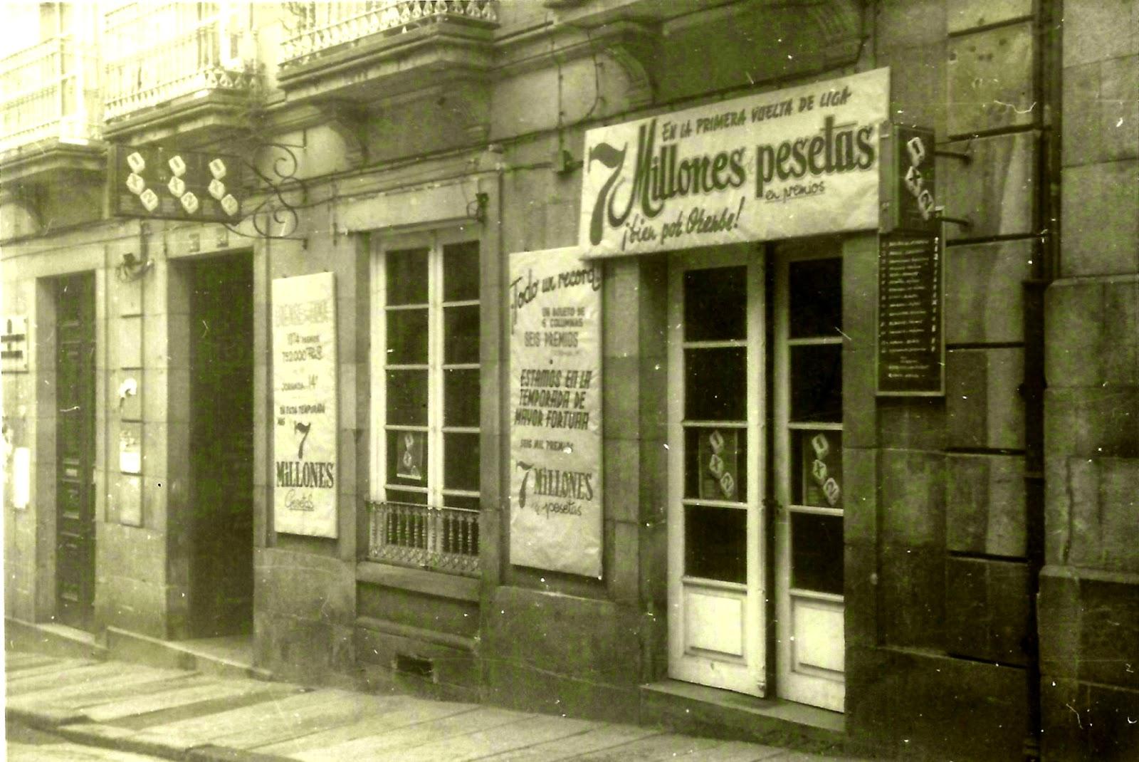 Ourense no tempo las quinielas for Oficina correos ourense
