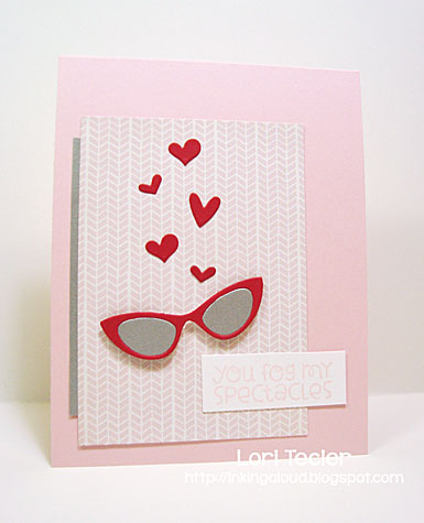 You Fog My Spectacles card-designed by Lori Tecler/Inking Aloud-stamps and dies from Paper Smooches