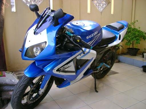 Modifikasi Suzuki Thunder 125 Terbaru