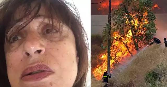 Βίντεο – H Χάρις Αλεξίου κάνει μέσω Instagram δημόσια έκκληση στην Παναγία για να σβήσει τις φωτιές