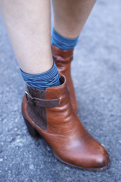 Dolce Vita ANkle Boots Seattle Street Style Fashion