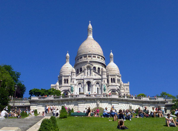 sacre coeur paris in fashion with you