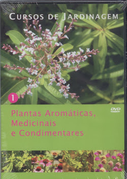 Curso de Plantas Aromticas, Medicinais e Condimentares em DVD