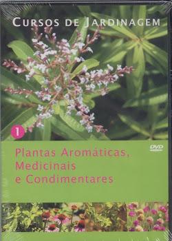 Curso de Plantas Aromáticas, Medicinais e Condimentares em DVD