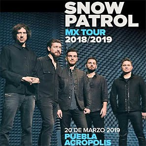 Snow Patrol MX Tour