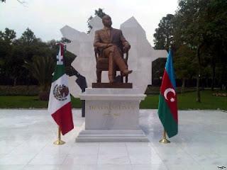 aliyev heydar statue mexiko
