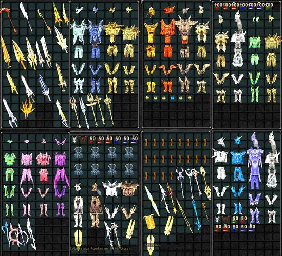 Items variados para MuOnline