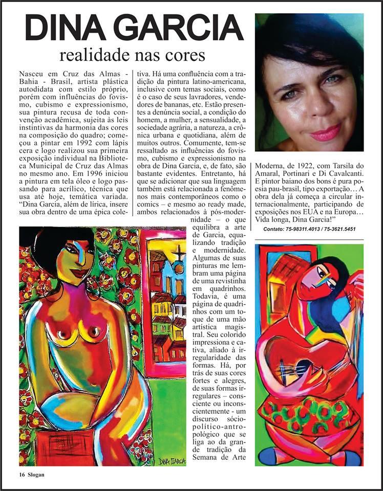 Revista Slogan - NOVO LANÇAMENTO NA PUBLICIDADE DE SALVADOR E REGIÃO, FELIZ COM A MATÉRIA QUE FALA