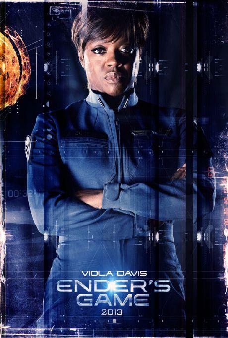 El Juego de Ender - Viola Davis (Mayor Gwen Anderson)