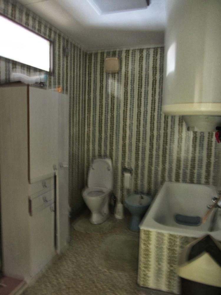 Ons occasiehuisje de evolutie van de badkamer for Grondplan badkamer
