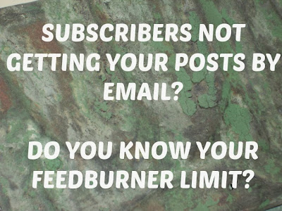 Blog help, Feedburner
